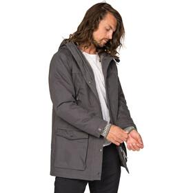 Varg Åre Parka Jacket Herren asphalt grey